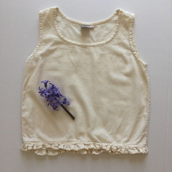 { Vintage } Boho Crop cotton. made in Guatemala Vintage Tops Crop Tops