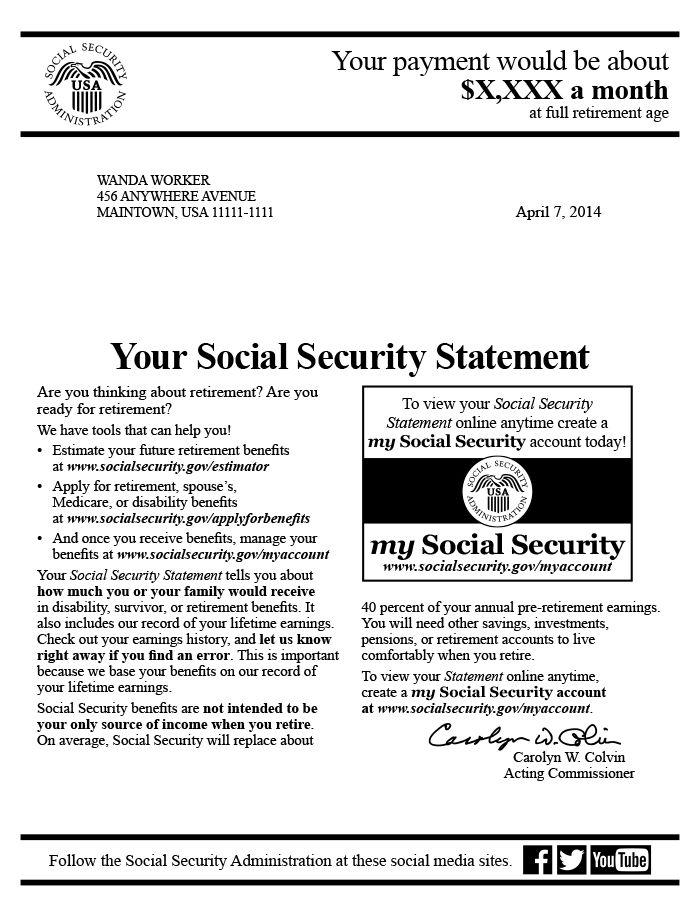 Award Letter For Social Security http//www.valery