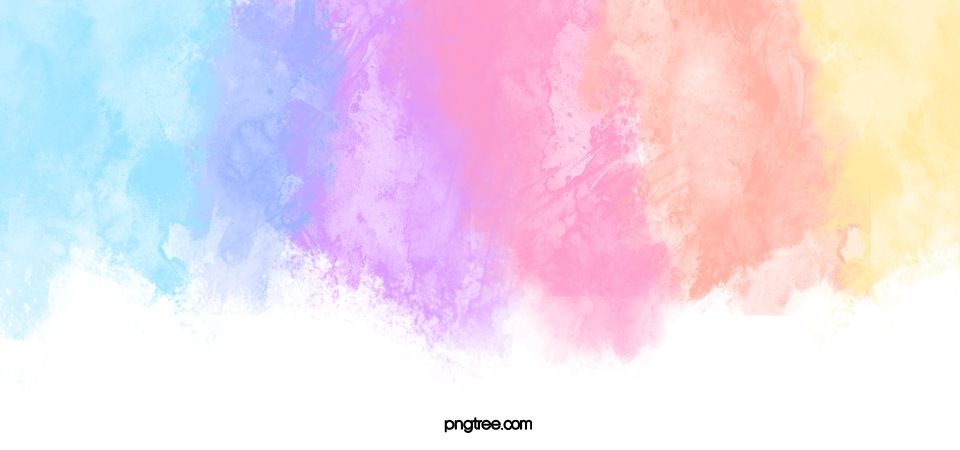Colorful Watercolor Rainbow Background In 2020 Rainbow