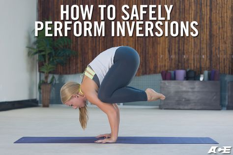 how to safely perform inversions  yoga handstand