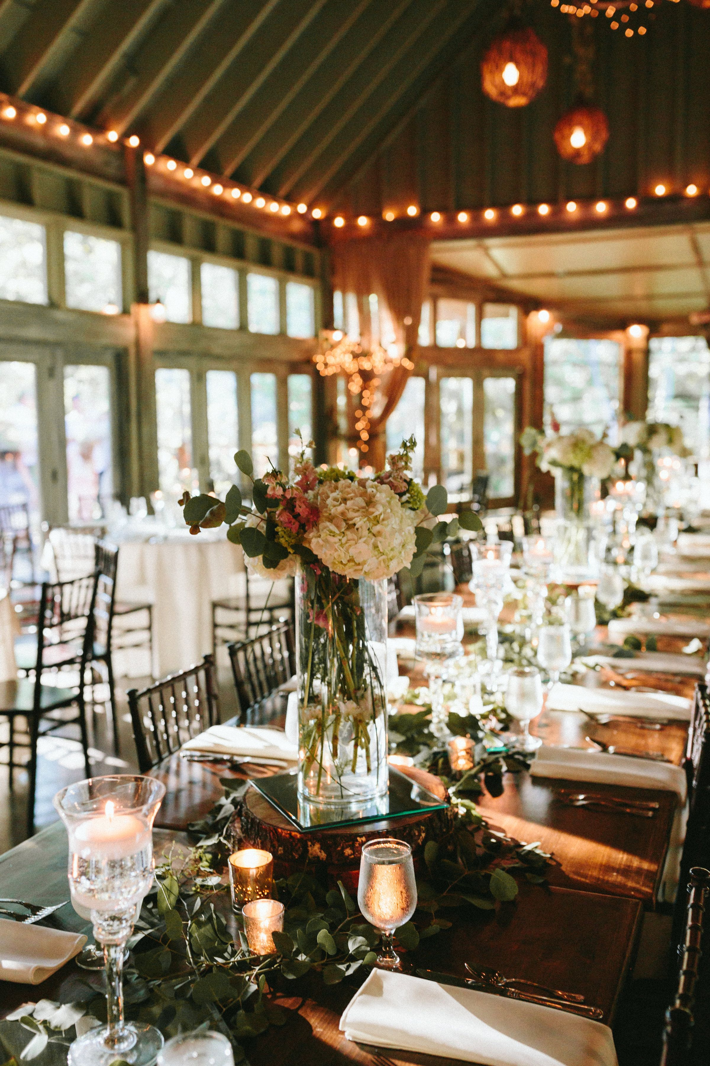 Gorgeous rustic mountain them with a hint of elegance ...