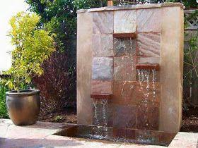 cascadas artificiales y muros de agua para la casa by artesydisenosblogspotcom - Cascadas Artificiales