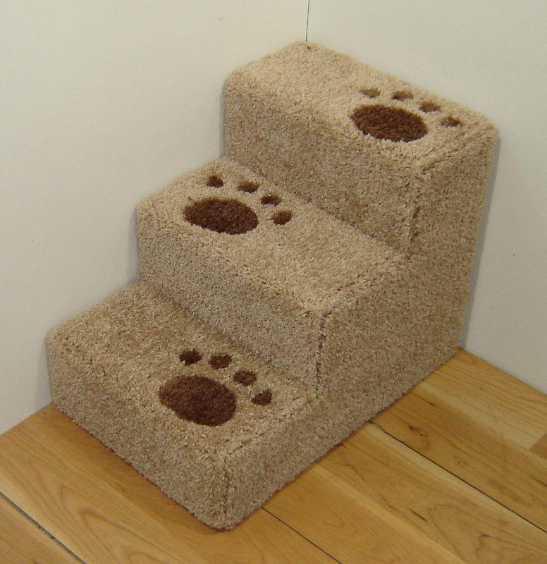14 tall x 14 wide wooden very small dog steps pet - Escaleras para perros pequenos ...