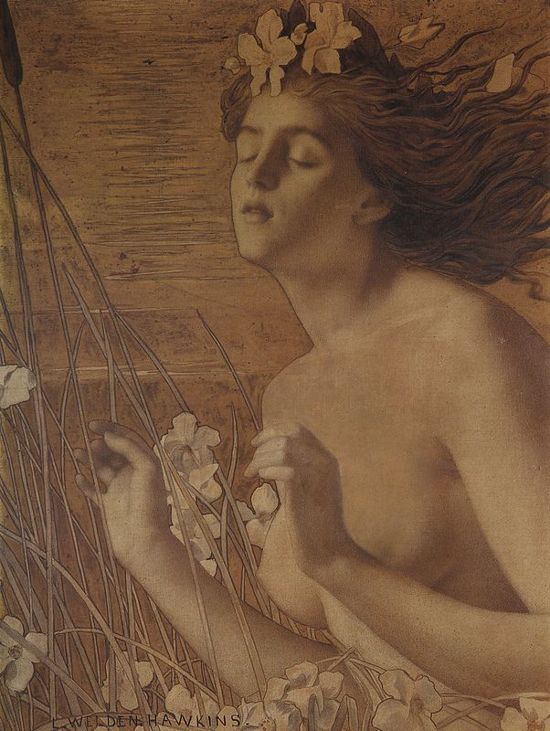 Louis Welden Hawkins L'automne, c. 1895, collection Victor Arwas, London