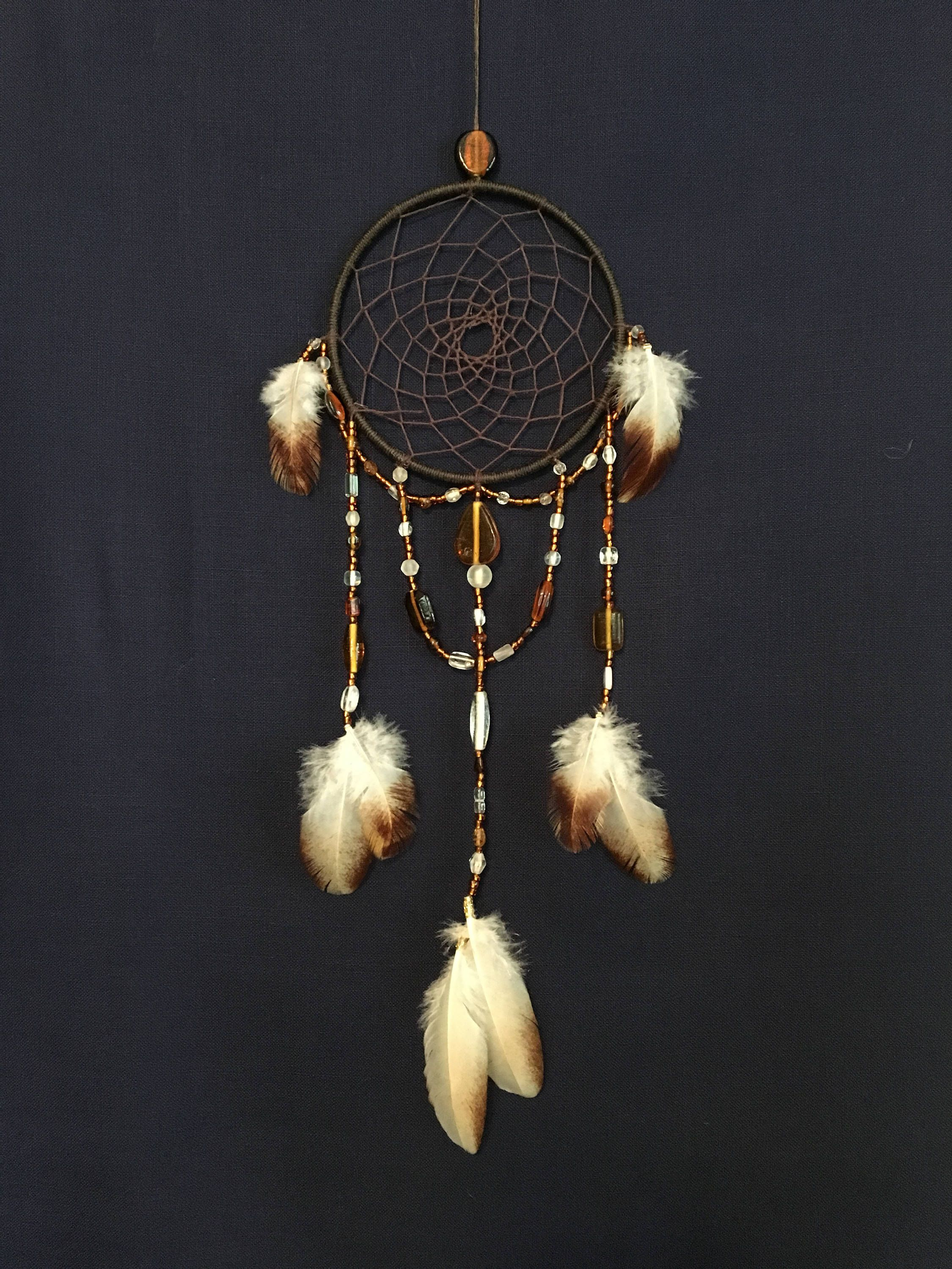 Dream Catcher With Feathers Car Or Wall Hanging Decor Ornament Handmade 2019 Lot
