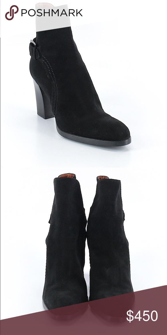 6ff09021467 Tod's Boots...Sz: 7.5...Color: Black....$895 Description: Chunky ...