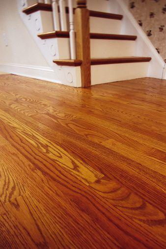 How To Find Joists Below A Hardwood Floor Hunker Red Oak Floors Cleaning Wood Floors Refinishing Floors