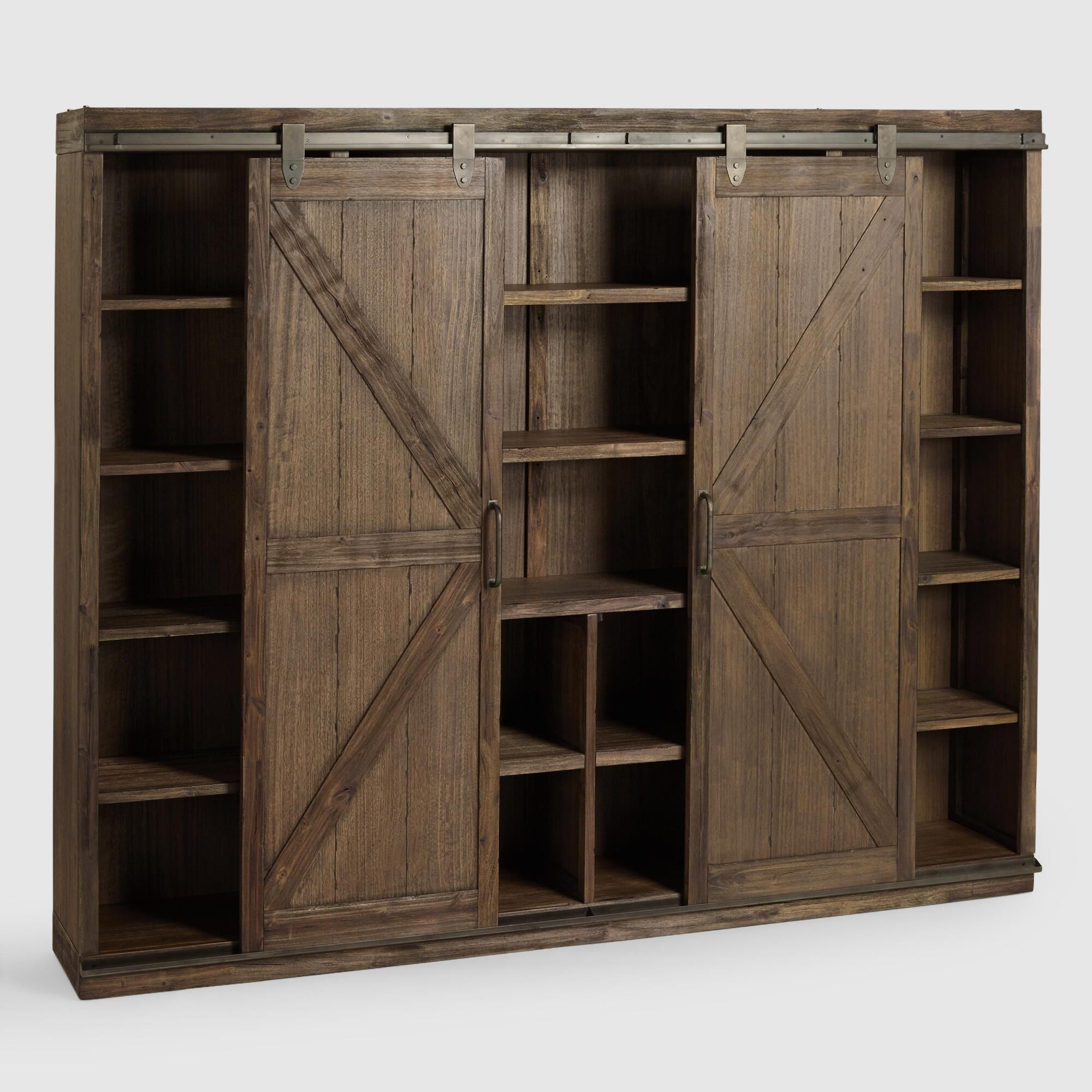 A substantial storage solution with adjustable and
