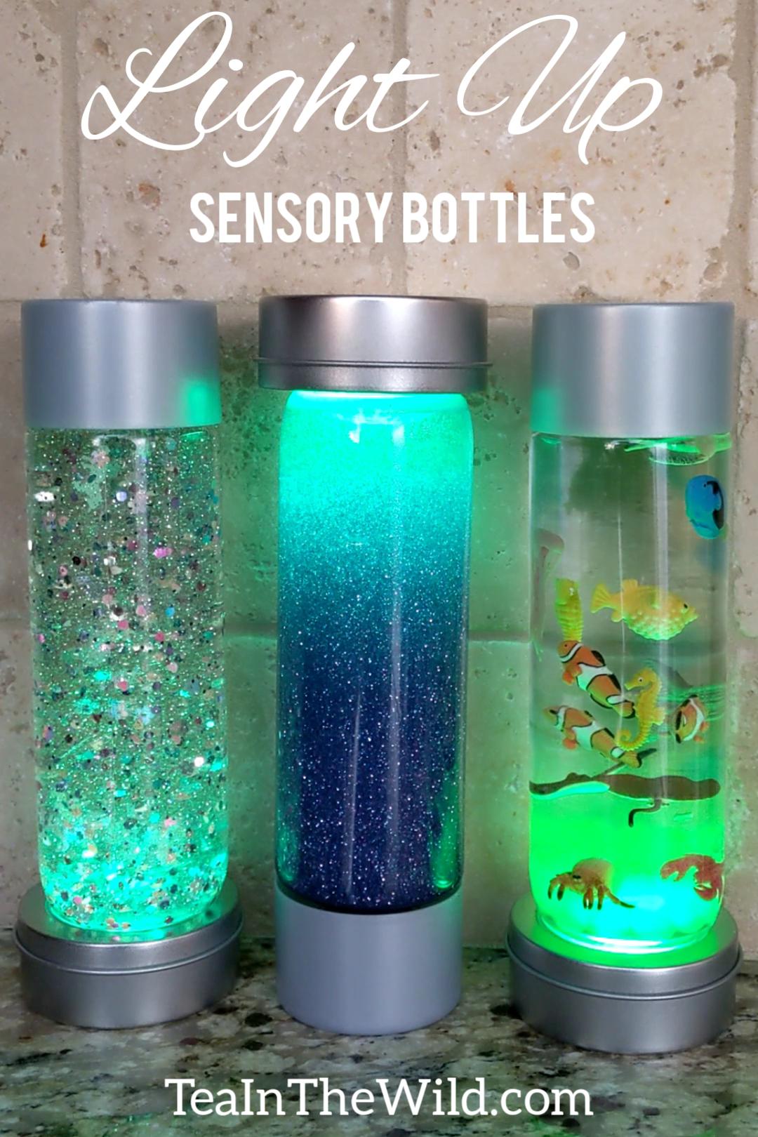 Photo of Light Up Sensory Bottles