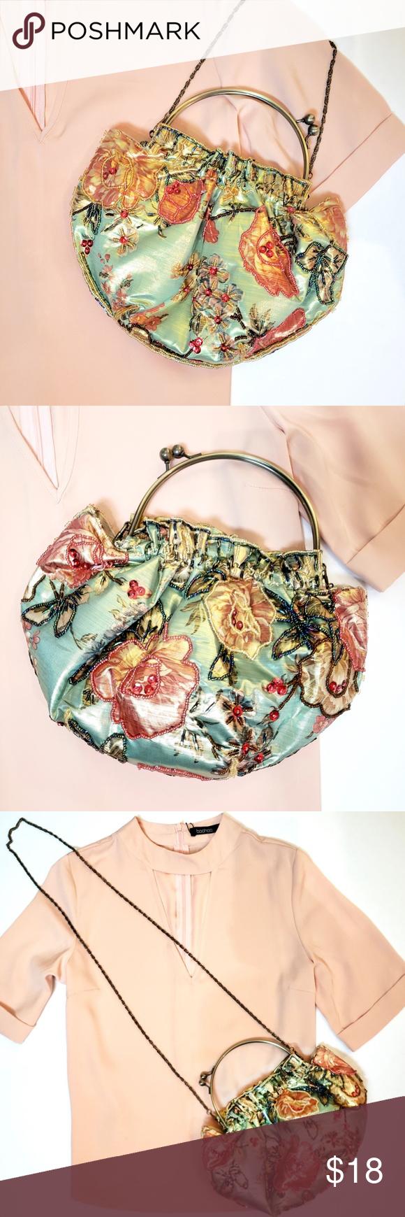 8ca491e5b3 JNS fabric bag w floral print