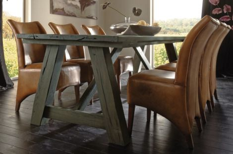 pricey dining chairs but they look so sumptuous!