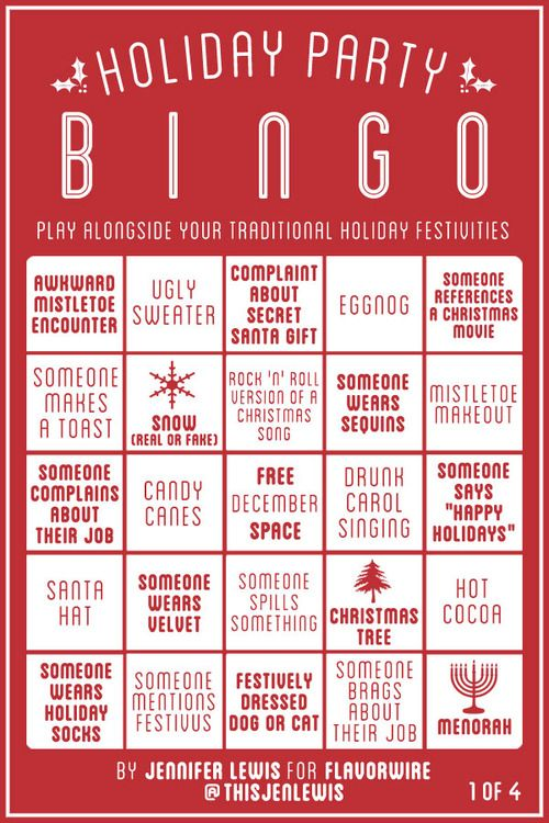 Exceptional Work Christmas Party Games Ideas Part - 2: Christmas Bingo · Holiday FunWork Christmas Party IdeasChristmas  PartiesChristmas Office GamesOffice ...