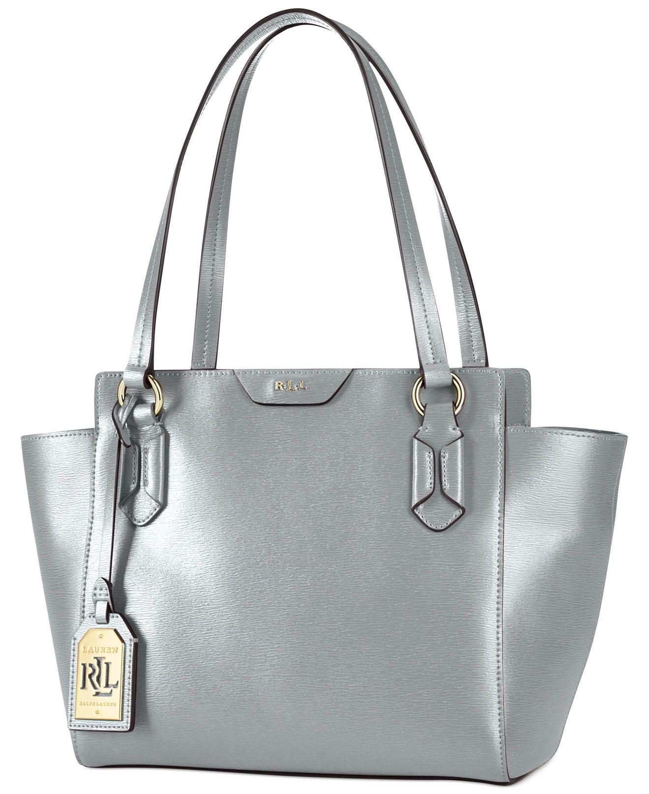 Lauren Ralph Lauren Tate Modern Shopper - Tote Bags - Handbags    Accessories - Macy s 82d45239e5