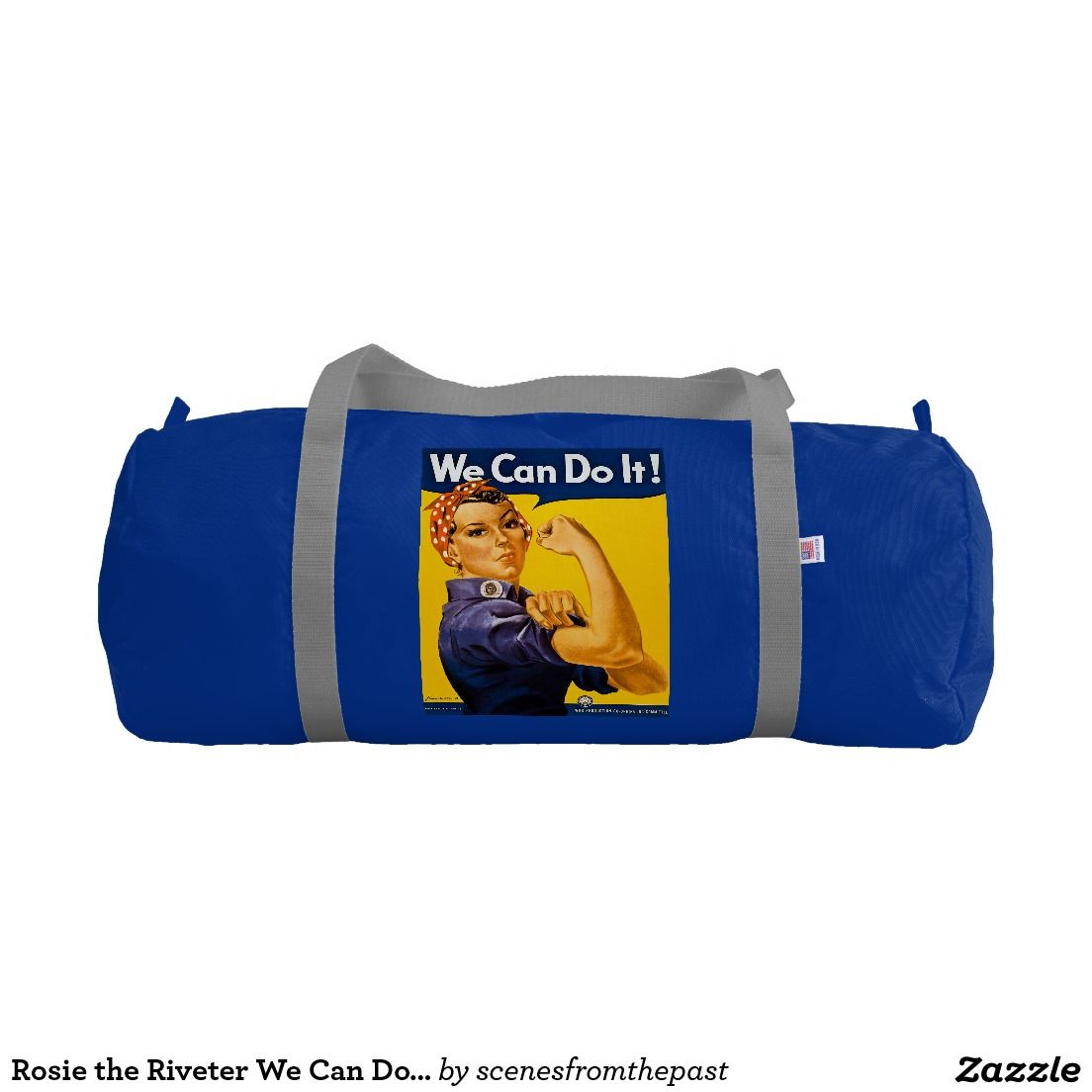 Rosie the Riveter We Can Do It Retro Vintage Gym Duffel Bag