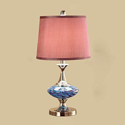 European Table Lamp Bedroom Bedside Lamp Modern Simple Living Room ...