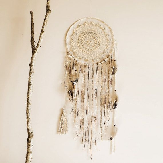 Wall hanging dreamcatcher, boho, decoration, bedroom ideas, handmade