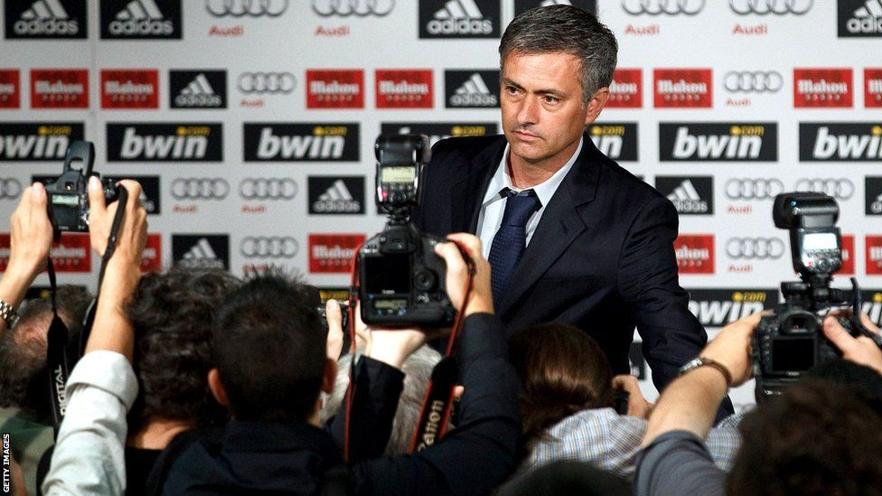 Jose Mourinho's managerial career in pictures José
