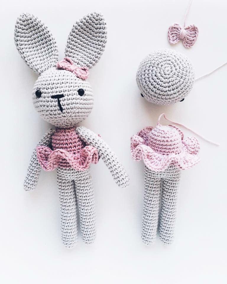 Miss Bunny | Amigurumiq | Pinterest | Patrones amigurumi, Conejo y ...