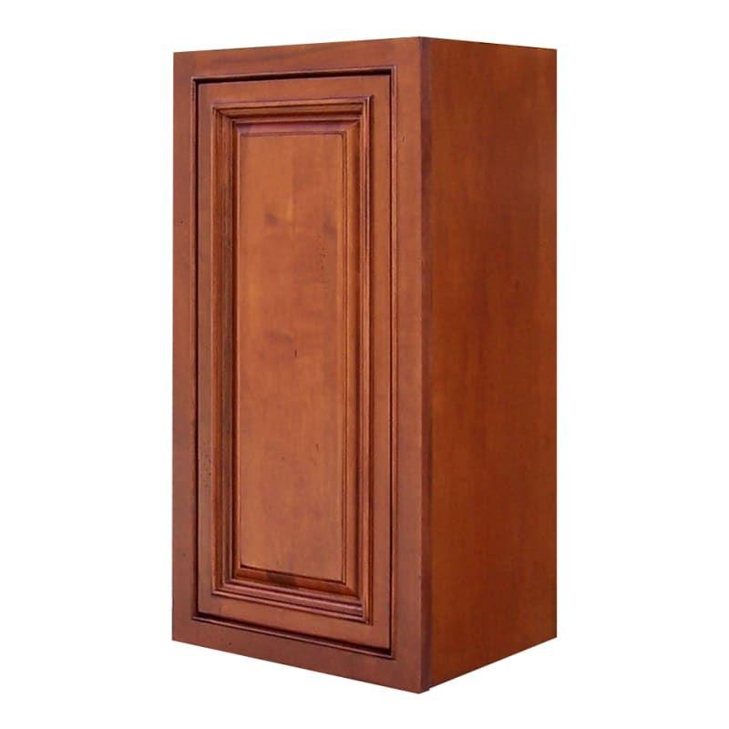 Sagehill Designs Ahw1530 Amherst 15 X 30 Single Door Kitchen Wall Cabinet Burnt Cinnamon Kitchen Cabinets Wall Cabinets 15 Inch In 2020 Kitchen Wall Cabinets Single Doors Design