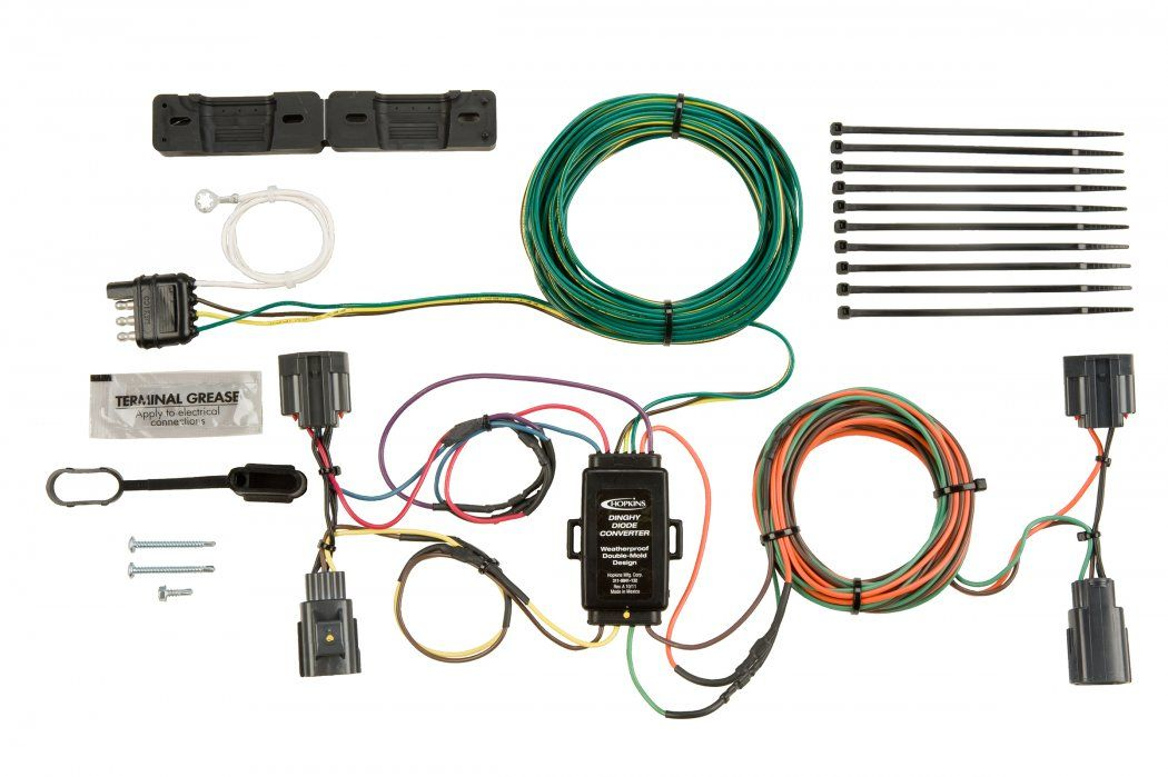 Hopkins Towing Solutions Vehicle Wiring Kit Installation Manual Guide