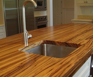 12 Wow Worthy Woods For Kitchen Countertops Wood Countertops Kitchen Countertops Butcher Block Countertops