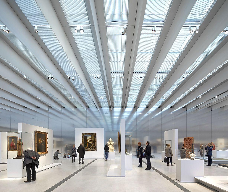 Exhibition Displays Ideas : Musée du louvre lens by sanaa architectes photography