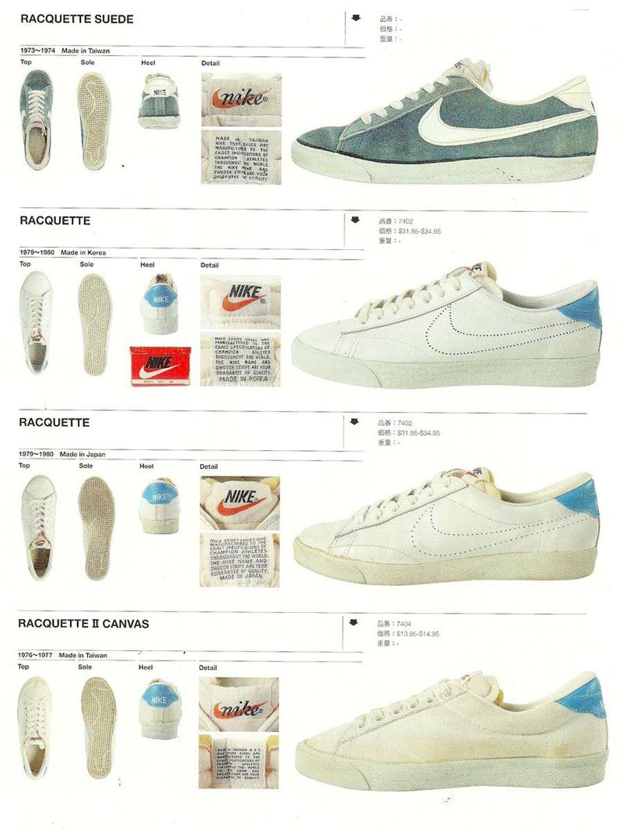 Vintage Nike Tennis Catalogs Sneakernews Com Vintage Nike Vintage Sneakers Retro Sneakers