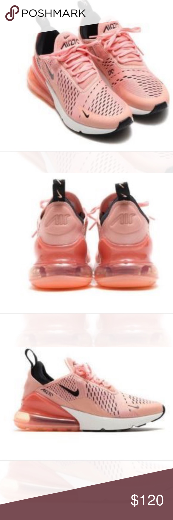 Nike Air Max 270 Women S Light Orange Pink Boutique Nike Air Max