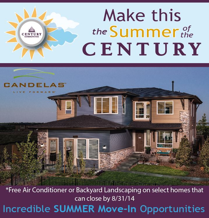 Purchase A Home At Century Communities Candelas In Arvada Co That Is Able To Close By August 31st And Recei New Home Construction New Home Builders New Homes