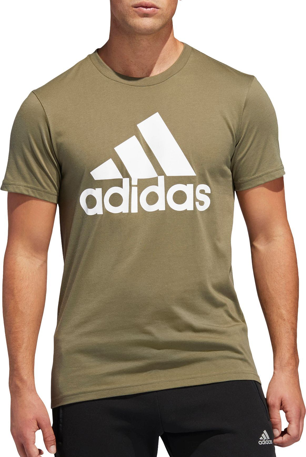 adidas Men's Badge Of Sport Classic T Shirt, Size: Small