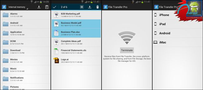 File Transfer Pro Android App free Download Android Pinterest - free spreadsheet software for macbook pro