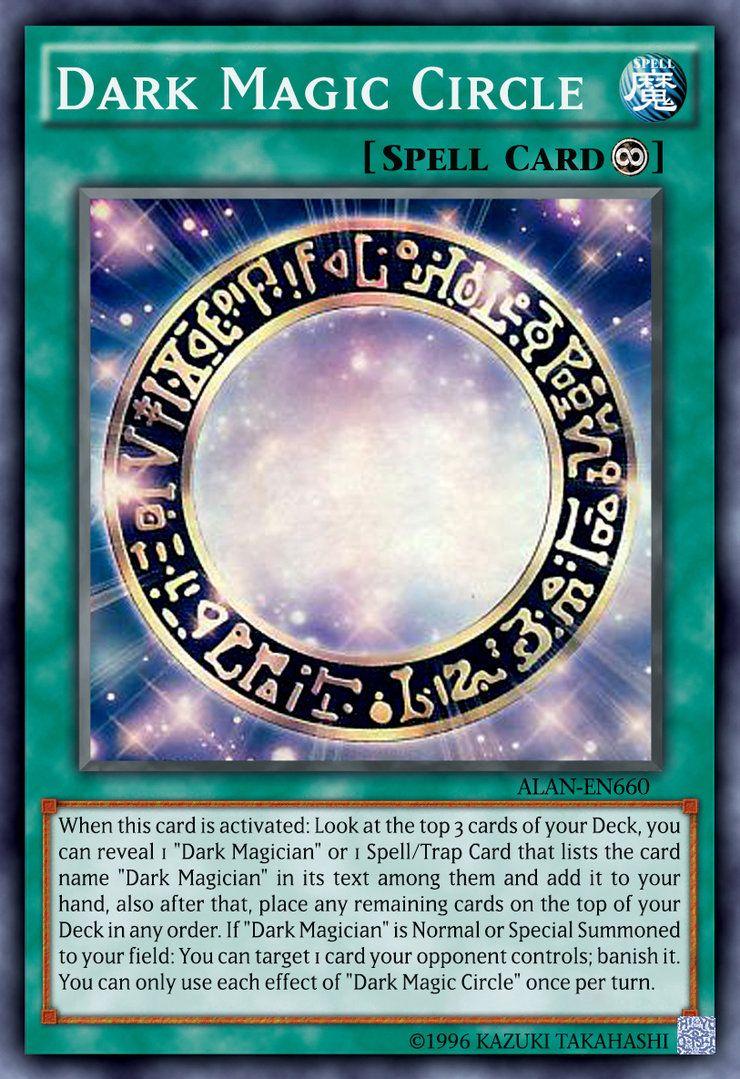 Dark magic circle by on