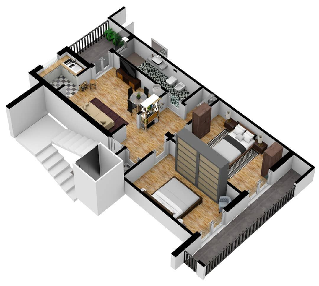 Created By A Member Of The Floorplanner Com Community 3d Floorplan Realestate Realestatemarketing Reales House Plans Floor Plans Real Estate Photography