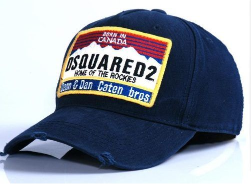 01d8fa6f9a8440 [$11.82] DSQUARED 2 Gorras Limited Adult Casual Letter Adjustable New  Unisex Hat Tide Brand