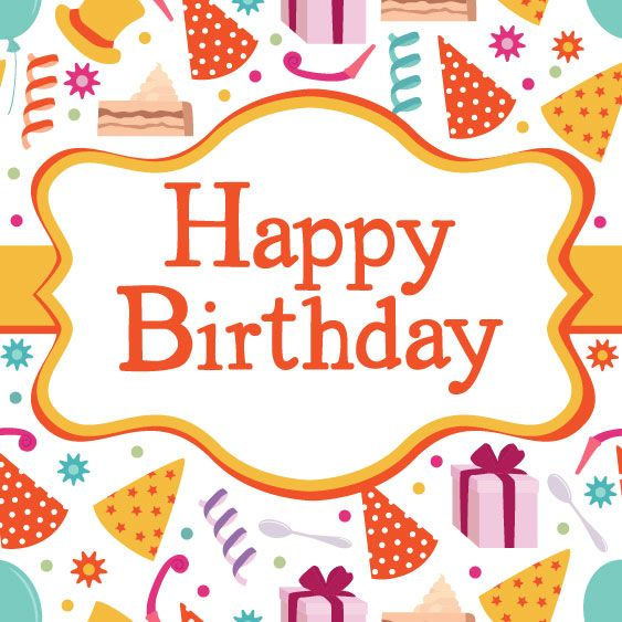 free graphic design Birthday card vector material – Vector Birthday Cards
