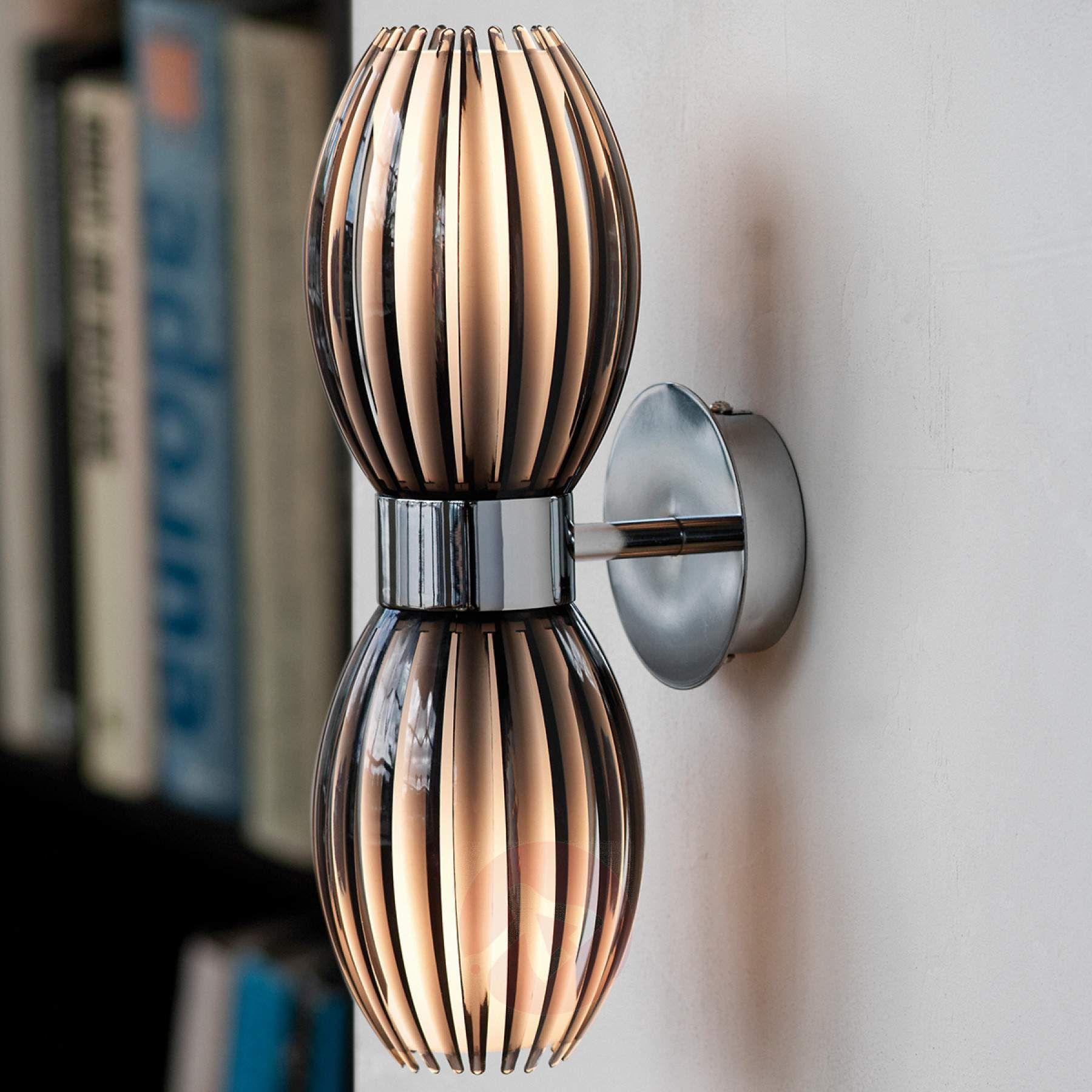 stilvolle nach oben und unten leuchtende wandleuchte. Black Bedroom Furniture Sets. Home Design Ideas