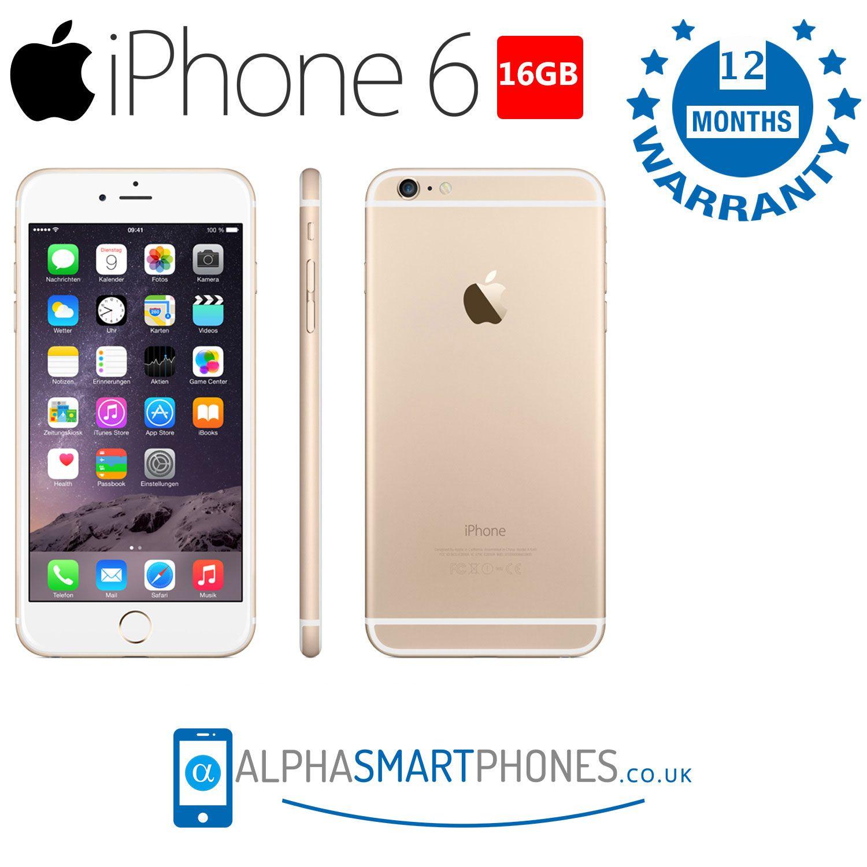 Buy Apple Iphone 6 16gb Gold Unlocked Used Acceptable In 2020 Iphone 6 16gb Iphone Apple Iphone