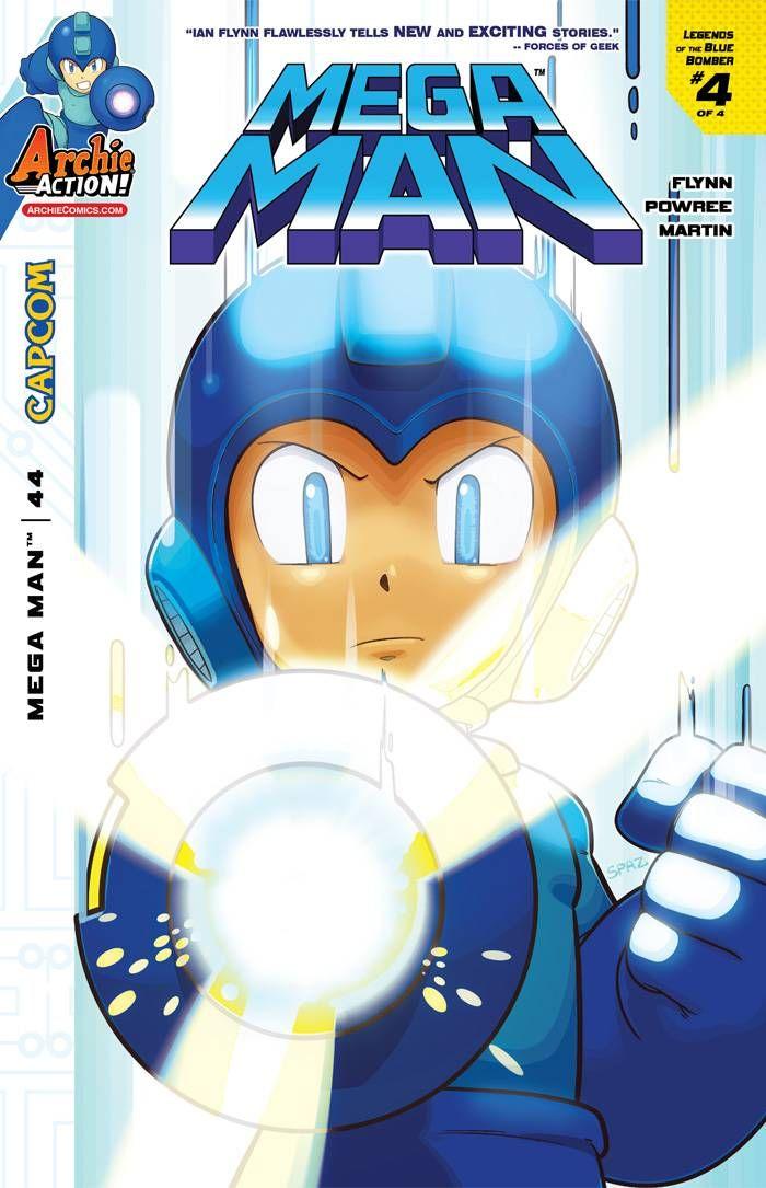 Mega Man #44.