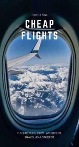 Hacks to book cheap flights