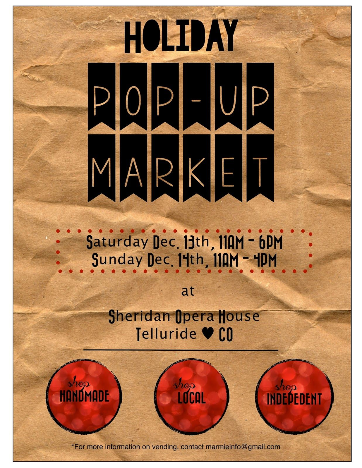 2019 Small Business Saturday Advertising Ideas A Marmie Life: Telluride Holiday Pop Up Market | stalls in 2019