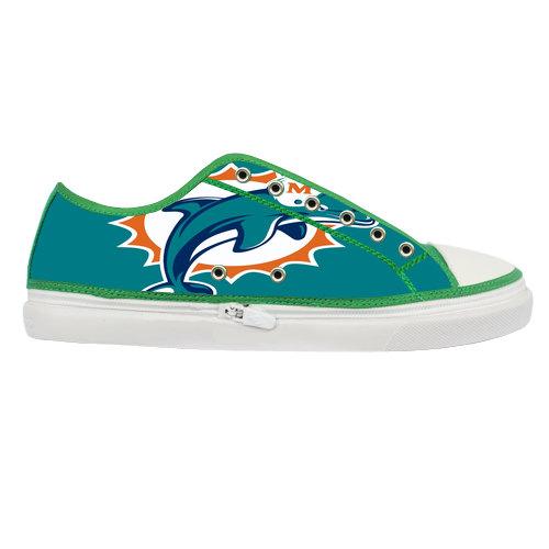 Nfl Miami Dolphins White Reebok Shoes