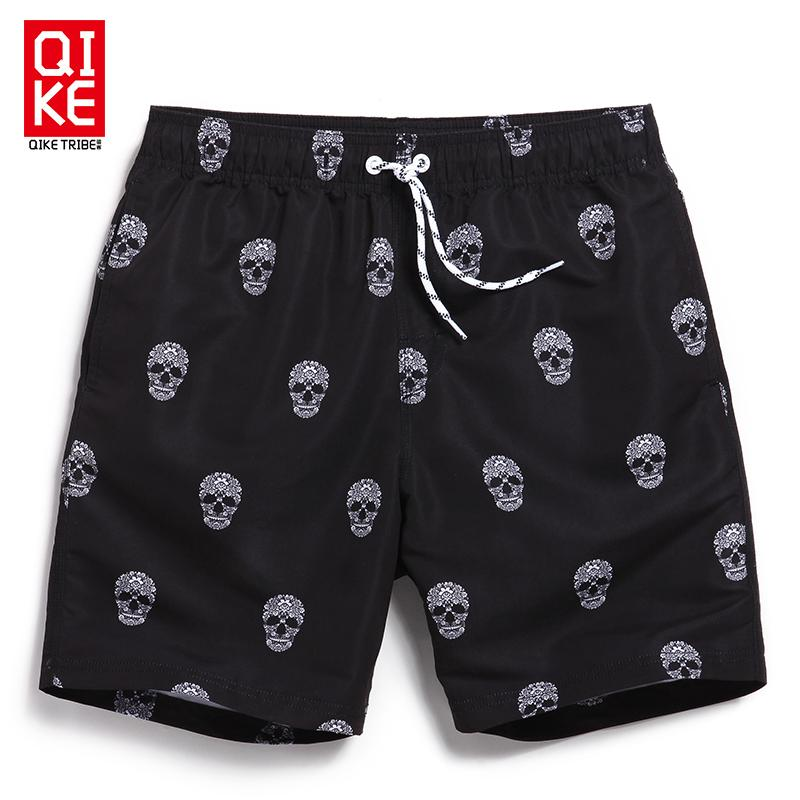 0ceeb106e Mens Gothic Rock Skull Swim Shorts Surf Trunks Beach Swimwear ...