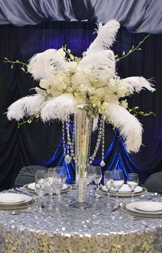 great gatsby flowers - Google Search