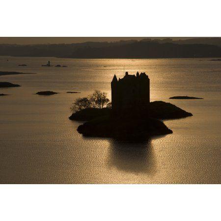 Castle Stalker Scotland Canvas Art John Short Design