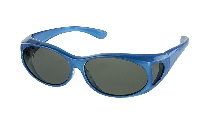 92c515da97a LensCovers Sunglasses Wear Over Prescription Glasses. Size Small with  Polarization.