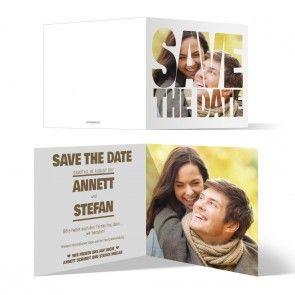 save the date karten - bildausschnitt #savethedate #hochzeit, Einladungen