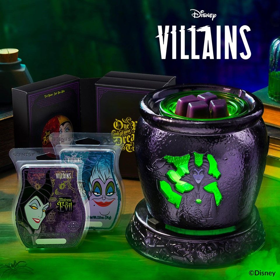 Wickedly Delightful Disney Villains Scentsy Collection