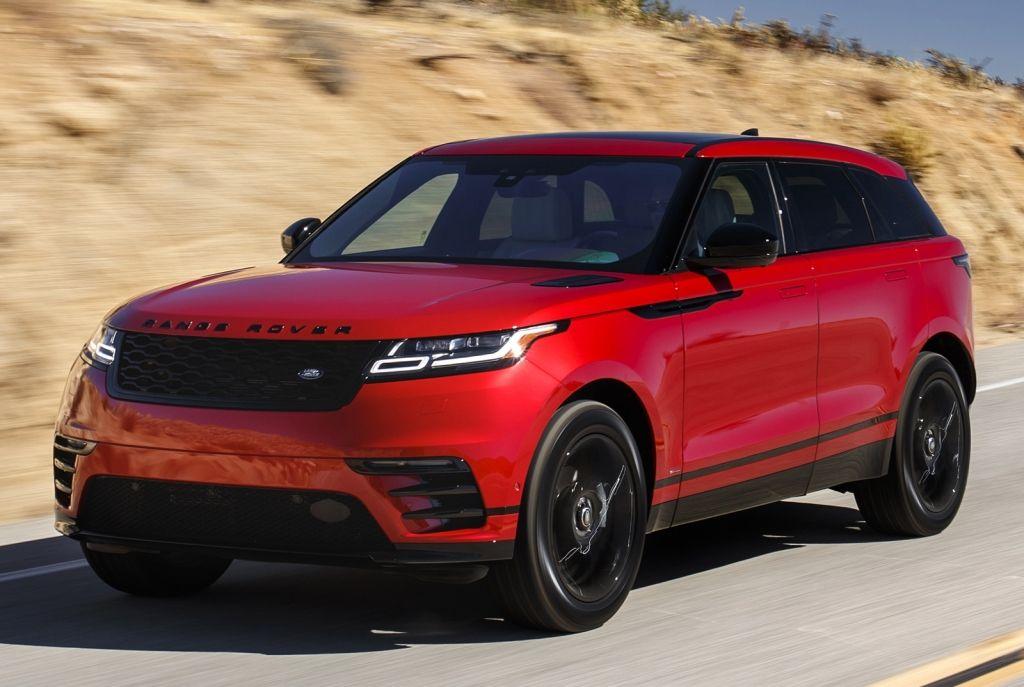 2018 Range Rover Velar R Dynamic P250 Se Black Pack North America 2017