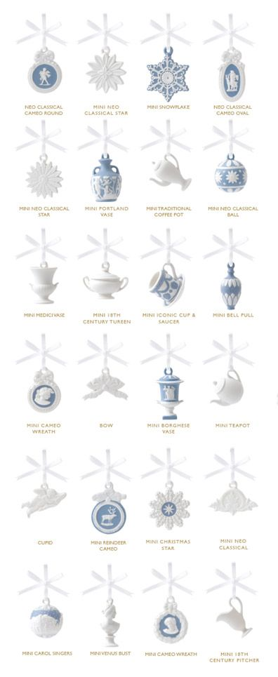 Wedgwood Christmas Advent House Ornaments - Wedgwood Christmas Advent House Ornaments O Christmas Tree