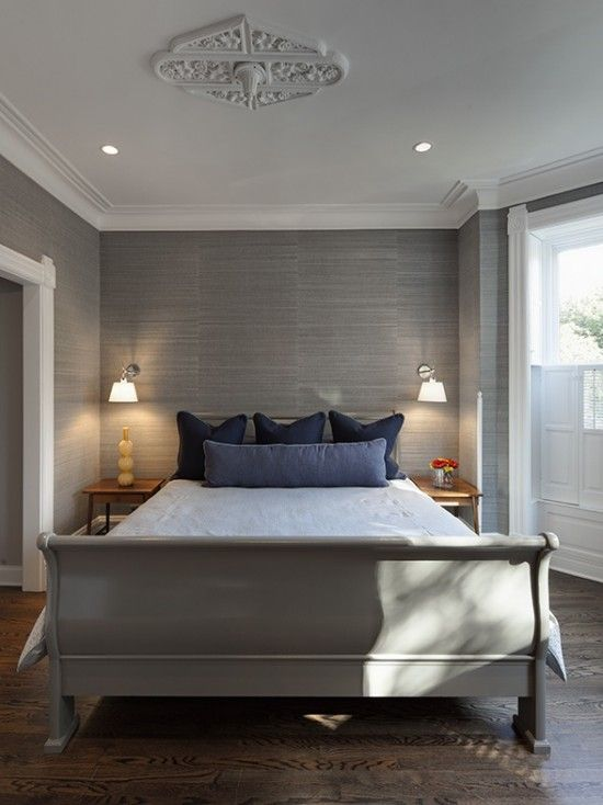 Grasscloth Wallpaper Bedroom